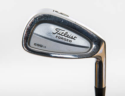 Titleist 690 CB Forged Single Iron 9 Iron True Temper Dynalite Gold Sensicore Steel Regular Right Handed 36.25in