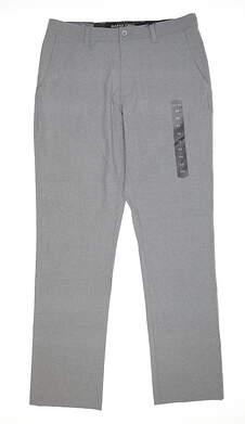 New Mens MATTE GREY Pants 34 Gray MSRP $85