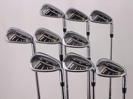 Ping I20 Iron Set 3-PW GW True Temper Dynamic Gold S300 Steel Stiff Right Handed Black Dot 39.0in