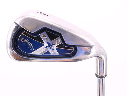 Callaway X-18 Single Iron 4 Iron 23.5° True Temper Steel Uniflex Right Handed 39.0in