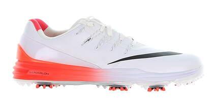 New Mens Golf Shoe Nike Lunar Control 4 Medium 11.5 White/Red MSRP $210 819037