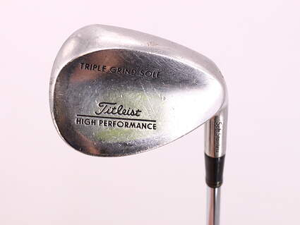 Titleist Triple Grind HP Soft Stainless Wedge Sand SW 56° True Temper Dynamic Gold Steel Wedge Flex Right Handed 35.5in