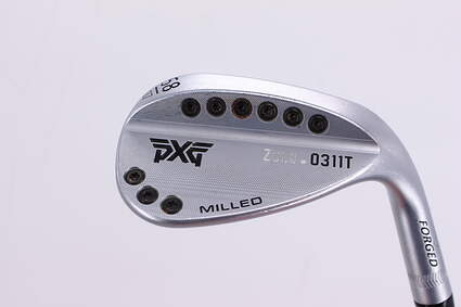 PXG 0311T Zulu Chrome Wedge Lob LW 58° 7 Deg Bounce Dynamic Gold Tour Issue S400 Steel Stiff Right Handed 34.75in