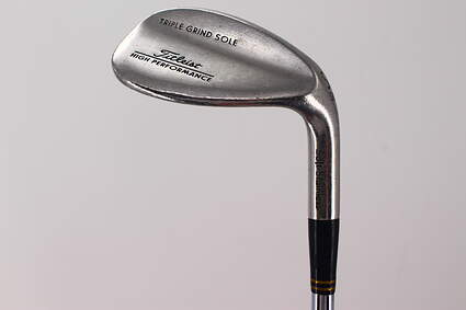 Titleist Triple Grind HP Soft Stainless Wedge Sand SW 56° True Temper Dynamic Gold Steel Wedge Flex Right Handed 35.25in
