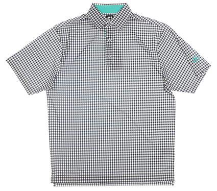 New W/ Logo Mens Footjoy Golf Polo Medium M Multi MSRP $75 22732