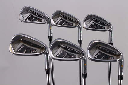 Ping I20 Iron Set 5-PW Nippon NS Pro 850GH Steel Stiff Right Handed Green Dot 38.25in