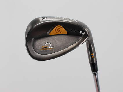 Cleveland CG14 Gunmetal Wedge Gap GW 52° 10 Deg Bounce Cleveland Traction Wedge Steel Wedge Flex Right Handed 35.5in