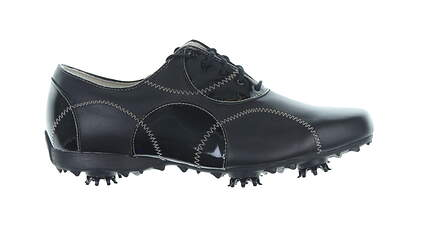 New W/O Box Womens Golf Shoe Footjoy Lopro Wide 8.5 Black MSRP $140 97092