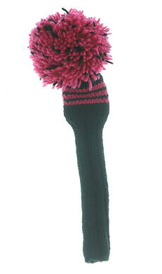 Well Knitted Hybrid Headcover Hot Pink/Black