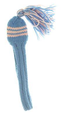 Well Knitted Hybrid Headcover Light Blue/Light Pink