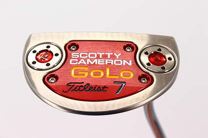 Mint Titleist Scotty Cameron 2014 GoLo 7 Putter Steel Right Handed 35.0in