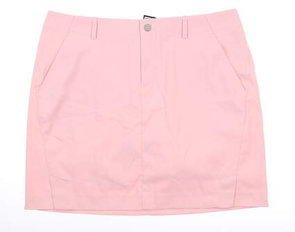 New Womens Ralph Lauren Golf Skort 10 Pink MSRP $168