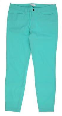 New Womens Peter Millar Pants 6 Lagoon MSRP $120 LF17EB45