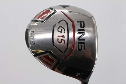 Tour Issue Ping G15 Driver 9° UST Proforce VTS 7 Red Graphite X-Stiff Right Handed 45.0in