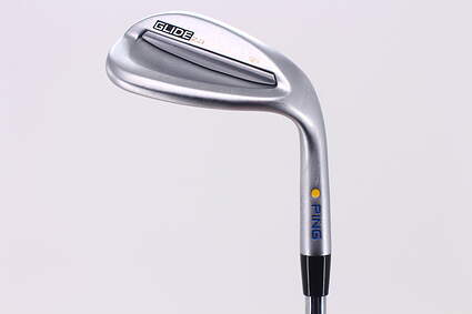 Tour Issue Ping Glide 2.0 Wedge Sand SW 56° 12 Deg Bounce FST KBS Tour-V 120 Steel X-Stiff Right Handed Yellow Dot 36.0in