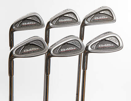 Tommy Armour 845S Silver Scot Iron Set 5-PW Stock Steel Shaft Steel Stiff Left Handed 37.75in