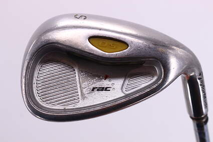 TaylorMade Rac OS 2005 Wedge Sand SW Stock Steel Shaft Regular Right Handed 35.75in
