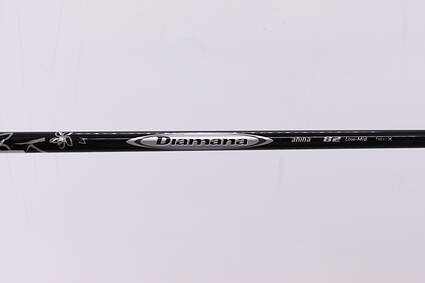 Used W/ Adapter Mitsubishi Rayon Diamana Ahina 80 Fairway Shaft X-Stiff 42.25in
