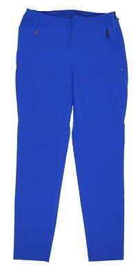 New Womens Ralph Lauren RLX Golf Pants 8 Blue MSRP $150