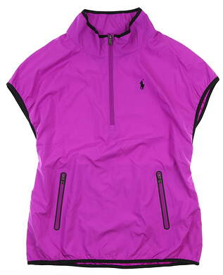 New Womens Ralph Lauren Vest Medium M Orchid MSRP $198