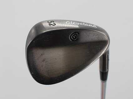 Cleveland CG10 Black Pearl Wedge Gap GW 52° Cleveland Traction Wedge Steel Wedge Flex Right Handed 35.75in