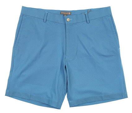 New Mens Peter Millar Golf Shorts 36 Blue MSRP $95 MS18EB84