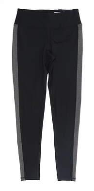 New Womens Footjoy Leggings Medium M Black/Gray MSRP $80