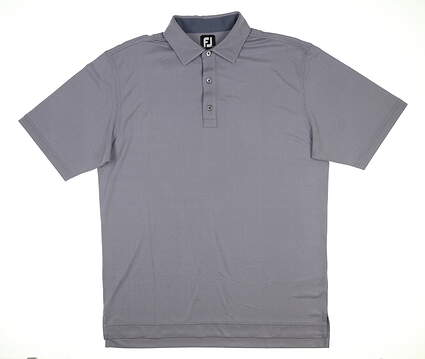 New Mens Footjoy Polo Large L Gray MSRP $72