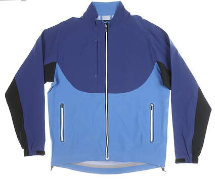 New Mens Footjoy Jacket Large L Blue MSRP $285