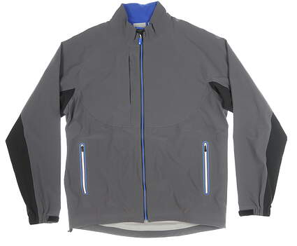 New Mens Footjoy Jacket Large L Gray MSRP $285