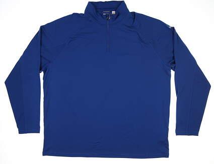 New Mens Puma Core 1/4 Zip Sweater XX-Large XXL True Blue MSRP $65 572366 05