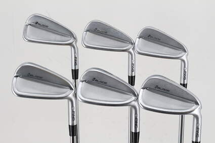 Ping iBlade Iron Set 4-9 Iron Project X 6.5 Steel X-Stiff Right Handed Silver Dot 38.0in