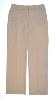 New Womens Sport Haley Golf Pants 8 Tan MSRP $72