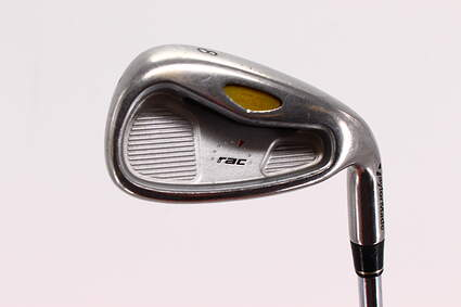 TaylorMade Rac OS 2005 Single Iron 8 Iron TM T-Step 90 Steel Stiff Right Handed 36.75in