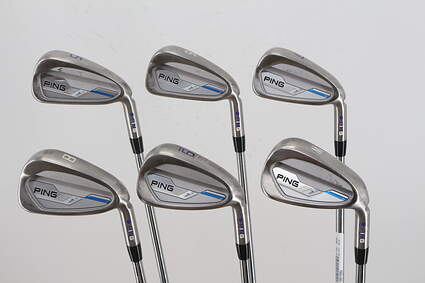 Tour Issue Ping 2015 i Iron Set 5-PW Nippon NS Pro 950GH Steel Senior Right Handed Black Dot 37.5in