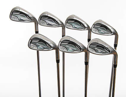 Callaway Steelhead XR Iron Set 5-PW SW True Temper XP 95 Stepless Steel Stiff Right Handed 38.25in