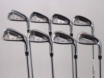 TaylorMade Rac LT Iron Set 3-PW True Temper Dynamic Gold R300 Steel Regular Right Handed 38.25in