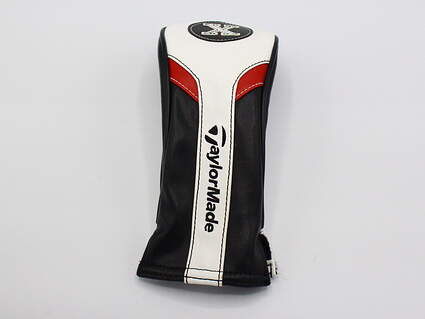 "TaylorMade ""X"" Premium Hybrid Headcover Red/Black/White"
