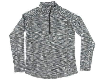 New W/ Logo Womens Straight Down 1/4 Zip Golf Pullover M Multi MSRP $120 W14226