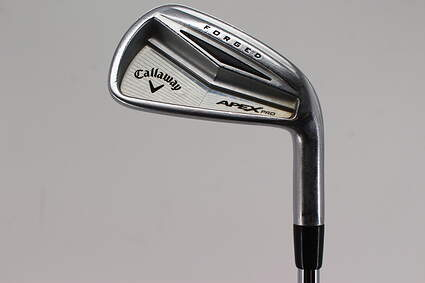 Callaway Apex Pro Single Iron 6 Iron FST KBS Tour-V 120 Steel X-Stiff Right Handed 38.0in