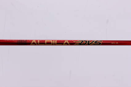 Used W/ Adapter Aldila DVS 65 Driver Shaft Senior 47.5in