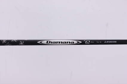 Used W/ Adapter Mitsubishi Rayon Diamana D+ 62 Driver Shaft Stiff 44.5in