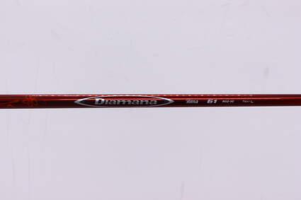 Used W/ Adapter Mitsubishi Rayon Diamana Ilima 60 Fairway Shaft Senior 42.5in