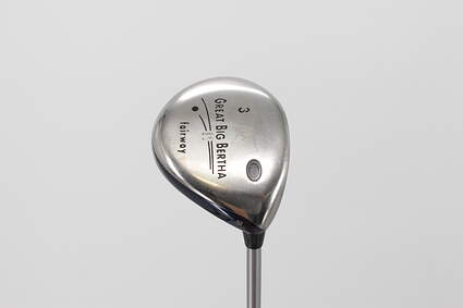 Callaway Great Big Bertha II Fairway Wood 3 Wood 3W 15° Callaway GBB System 60 Graphite Regular Right Handed 43.5in