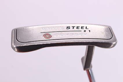Odyssey White Steel 1 Putter Steel Right Handed 34.25in