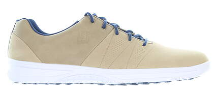 New Mens Golf Shoe Footjoy 2019 Contour Casual Medium 11.5 Tan MSRP $120 54056
