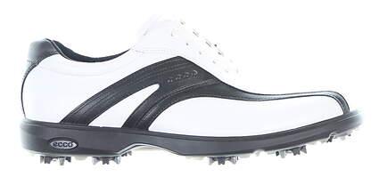New Mens Golf Shoe Ecco Classic 9 White/Black MSRP $160 14050451227