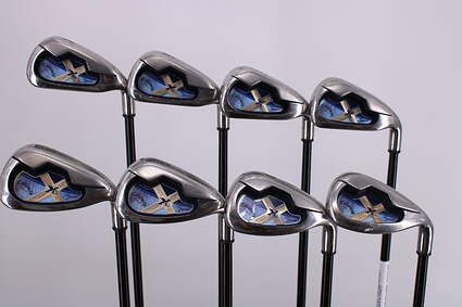 Callaway X-18 Iron Set 4-PW SW Callaway Gems Graphite Ladies Right Handed 36.75in