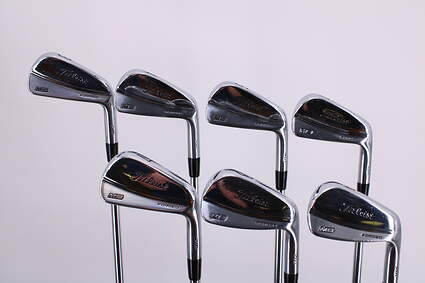 Titleist 716 MB Iron Set 3-9 Iron Dynamic Gold AMT S300 Steel Stiff Right Handed 38.25in