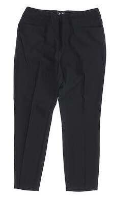 New Womens Adidas Cropped Pants Small S Black MSRP $80 BC1939